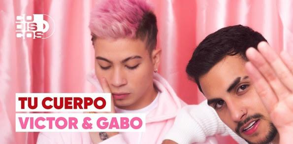 Víctor y Gabo tu cuerpo portada