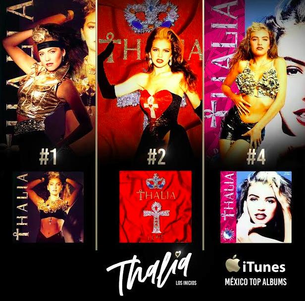 Thalía cover