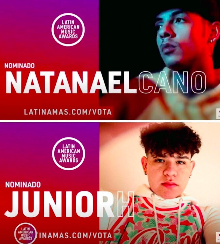 Natanael Cano y Junior H juntos