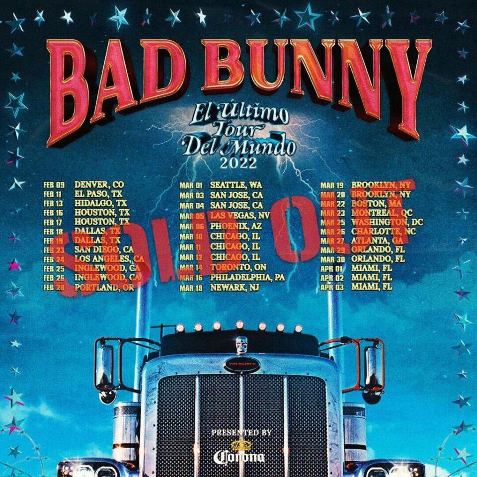 Bad Bunny El Último Tour del Mundo 2022