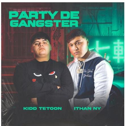 """La revelación chilena Kidd Tetoon estrena """"Party de gangster"""" en colaboración con Ithan NY"""